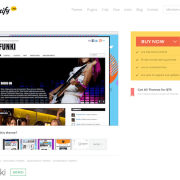 Themify: Funki WordPress Theme