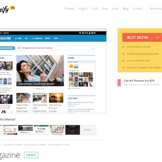 Themify: Magazine WordPress Theme