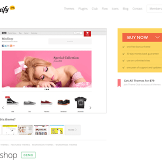 Themify: Minshop WooCommerce Theme
