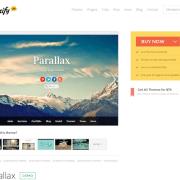 Themify: Parallax WordPress Theme