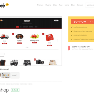 Themify: Pinshop WooCommerce Theme