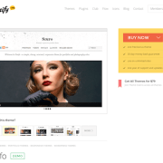 Themify: Simfo WordPress Theme
