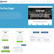WooThemes: The One Pager