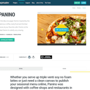 WPMU DEV: Panino WordPress Theme