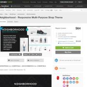 Themeforest: Neighborhood
