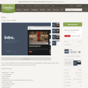 Contempo: Creer Intro WordPress Theme