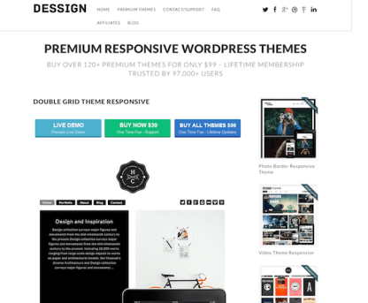 Dessign: Double Grid Responsive