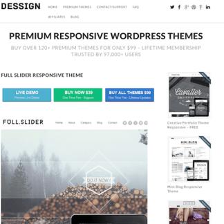 Dessign: Full Slider Responsive