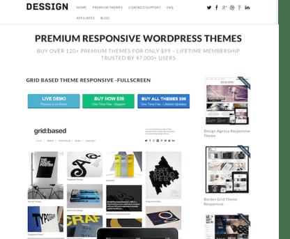 Dessign: Grid Based Responsive