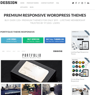Dessign: Portfolio Responsive