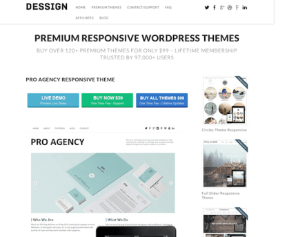 Dessign: Pro Agency Responsive