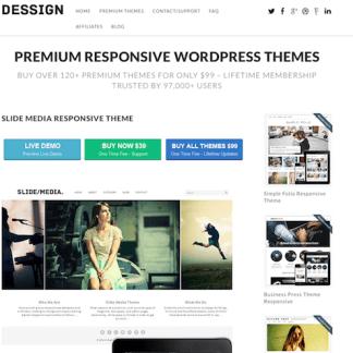 Dessign: Slide Media Responsive