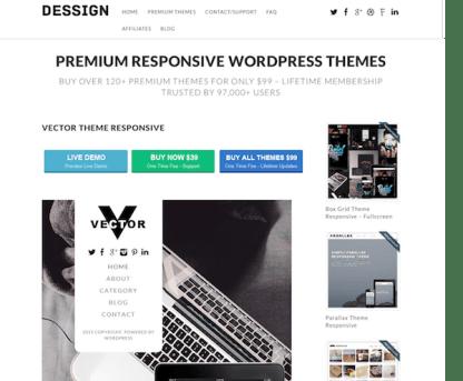 Dessign: Vector Responsive