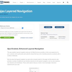 Extensión para WooCommerce: Ajax Layered Navigation