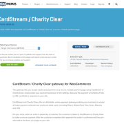 Extensión para WooCommerce: CardStream / Charity Clear
