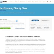 Extensión para WooCommerce: CardStream / Charity Clear