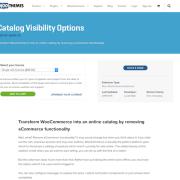 Extensión para WooCommerce: Catalog Visibility Options