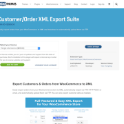 Extensión para WooCommerce: Customer Order XML Export Suite