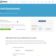 Extensión para WooCommerce: Email Attachments