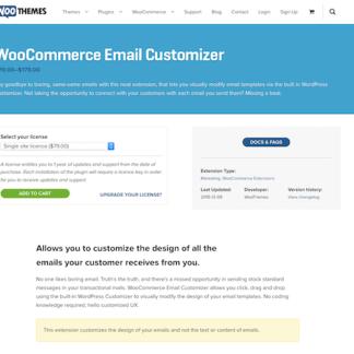 Extensión para WooCommerce: Email Customizer