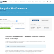 Extensión para WooCommerce: Groups for WooCommerce