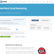 Extensión para WooCommerce: Mad Mimi Email Marketing