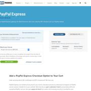Extensión para WooCommerce: PayPal Express Gateway