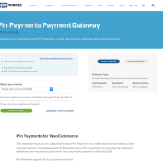 Extensión para WooCommerce: Pin Payments Payment Gateway
