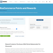 Extensión para WooCommerce: Points and Rewards