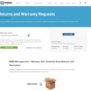 Extensión para WooCommerce: Returns and Warranty Requests