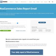 Extensión para WooCommerce: Sales Report Email