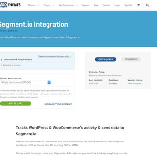 Extensión para WooCommerce: Segment.io Integration