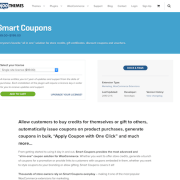 Extensión para WooCommerce: Smart Coupons