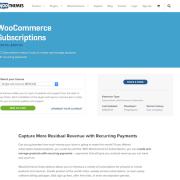 Extensión para WooCommerce: Subscriptions