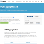 Extensión para WooCommerce: UPS Shipping Method