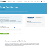 Extensión para WooCommerce: Virtual Card Services