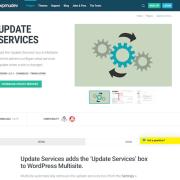 WPMU DEV: Update Services WordPress Plugin
