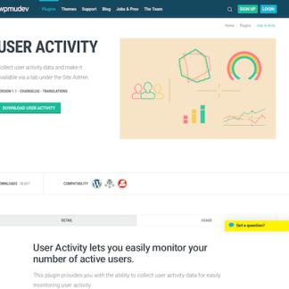 WPMU DEV: User Activity WordPress Plugin
