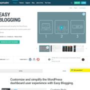 WPMU DEV: Easy Blogging WordPress Plugin
