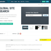 WPMU DEV: Global Site Search WordPress Plugin