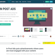 WPMU DEV: In Post Ads WordPress Plugin