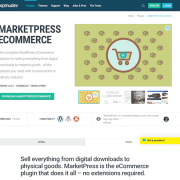 WPMU DEV: MarketPress eCommerce WordPress Plugin