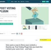 WPMU DEV: Post Voting WordPress Plugin
