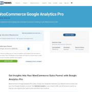 Extensión para WooCommerce: Google Analytics Pro