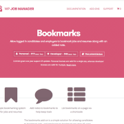 WP Job Manager Add-On: Bookmarks