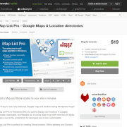 Codecanyon: Map List Pro