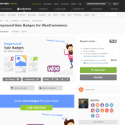 Codecanyon: Improved Sale Badges for WooCommerce