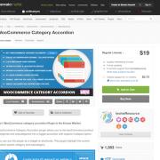 Codecanyon: WooCommerce Category Accordion