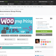 Codecanyon: Woocommerce Group Pricing
