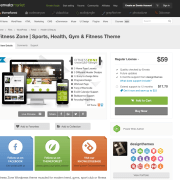 Themeforest: Fitness Zone